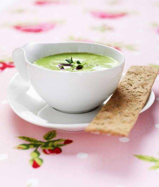 Vegetarisk soppa som är lätt att laga.