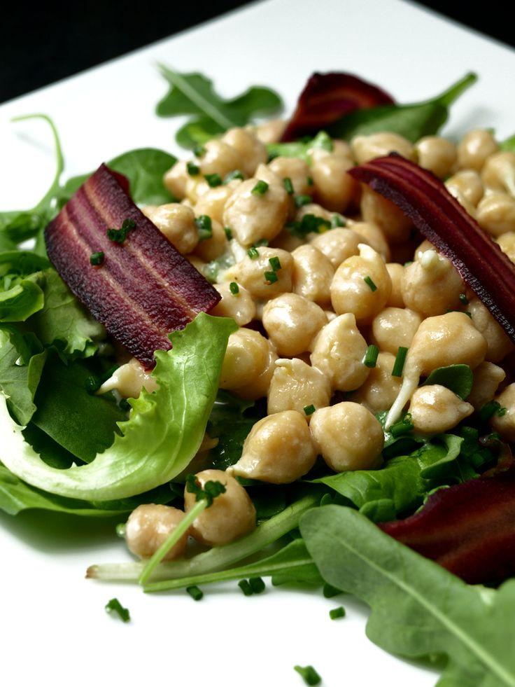 Salade de pois chiches germés