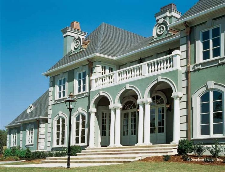 Best HOUSE PLANS Images On Pinterest Architecture Colonial - Neoclassical house plans