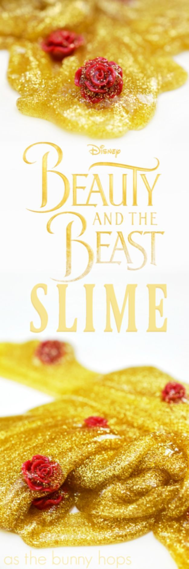 Best DIY Slime Recipes - Beauty And The Beast Slime- Cool and Easy Slime Recipe and Tutorials - Ideas Without Glue, Without Borax, For Kids, With Liquid Starch, Cornstarch and Laundry Detergent - How to Make Slime at Home - Fun Crafts and DIY Projects for Teens, Kids, Teenagers and Teens - Galaxy and Glitter Slime, Edible Slime, Rainbow Colored Slime, Shaving Cream recipes and more fun crafts and slimes http://diyprojectsforteens.com/diy-slime-recipe-ideas