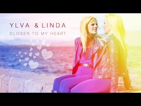 Closer to my heart - Lyric video - Ylva & Linda - YouTube