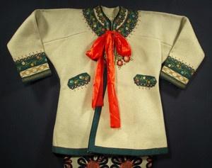 Polish Folk Costume Goral Wool Embroidered Coat Cape Podhale Poland Ethnic | eBay