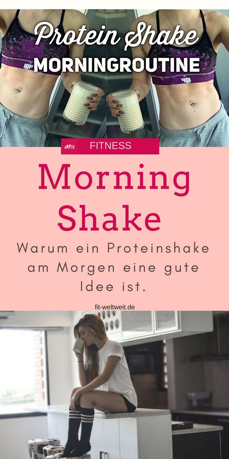 #Protein Shake #Morningroutine und Wasser trinken... so startet der Tag. Und dann? Und warum solltest du deine Morning Routine auch überdenken? Hier ... Morning #Shake Test