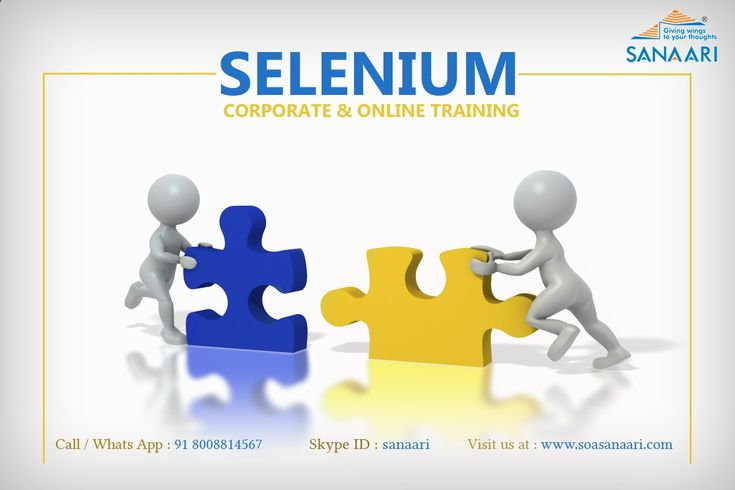 #Selenium is a portable #software testing framework for #webapplication. Selenium provides a record/playback tool for authoring tests without learning a test scripting language. For More Contact Us: Mobile no. - 9949714567 What's app no.- 8008814567 Landline No.- 91 4040048283