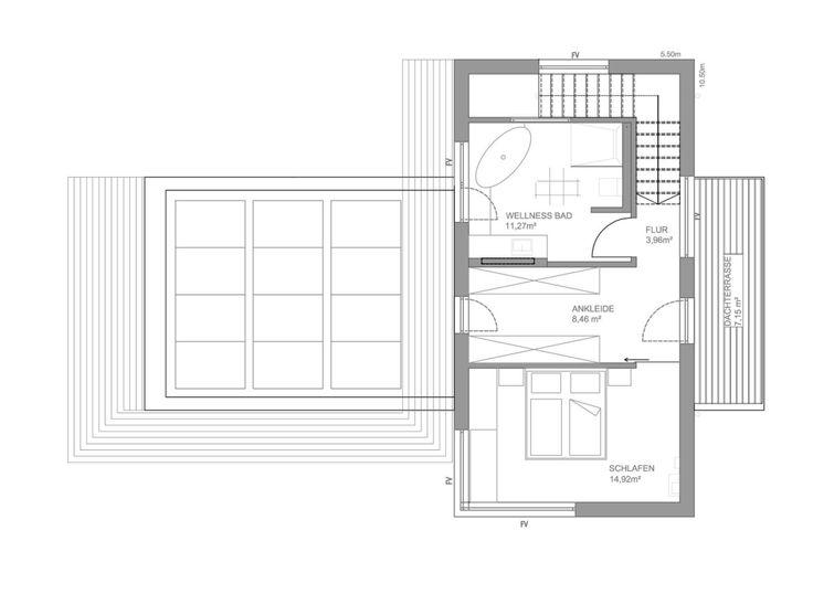 Ber ideen zu holzhaus fertighaus auf pinterest for Minimalistisches haus grundriss
