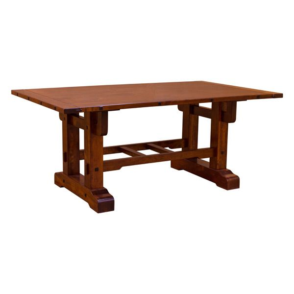 Mission Trestle Table Plans: Greene & Greene Style Trestle Table In 2019