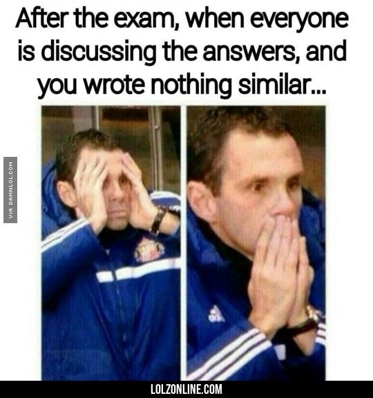 After The Exam#funny #lol #lolzonline