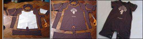 IoRicreo da t-shirt a tutina per bebè