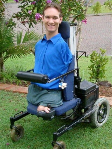 Nick Vujicic - Born without limbs, yet a true inspiration for everyone!