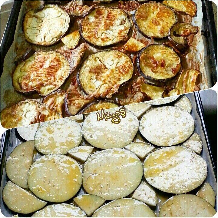 Fırında Yumurtalı Patlıcan