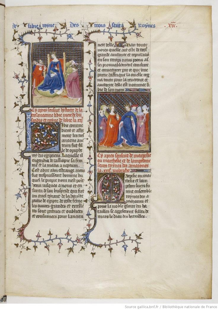De Claris mulieribus, fol. 19.