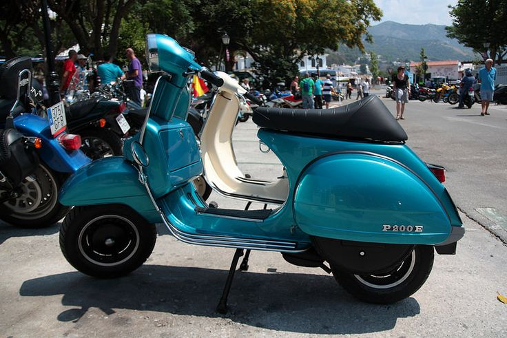Vespa P200E | Flickr - Photo Sharing!