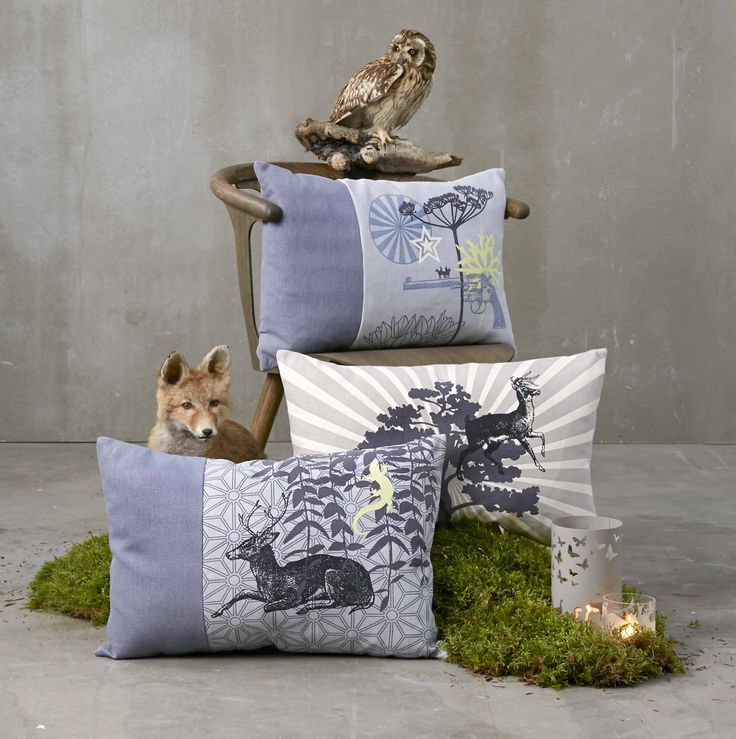 Cushions - design by Susanne Schjerning AW14
