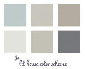 deze kleurencombinatie vind ik erg mooi als inspiratie
