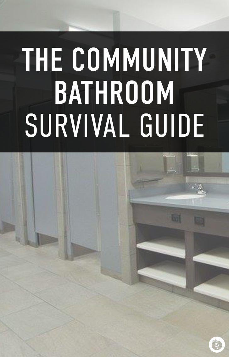 Community bathrooms in college