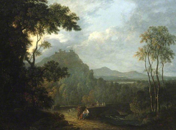 Dinas Bran Castle, near Llangollen by Richard Wilson
