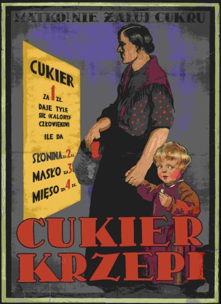 """Reklama """"Cukier krzepi"""", fot. materiały archiwalne"""