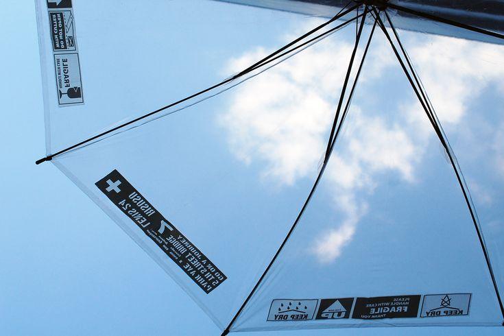 YOJO TAPE をビニール傘に貼ってオリジナル感を楽しむ