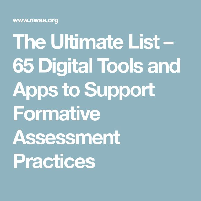The  Best Formative Assessment Tools Ideas On