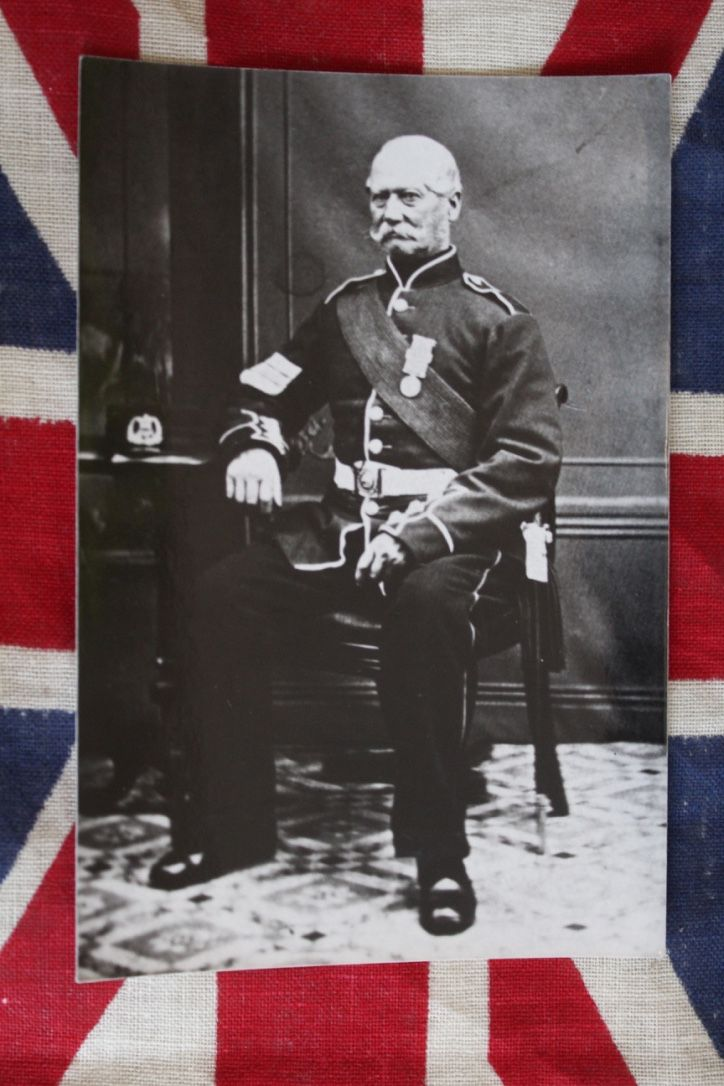 Victorian Army Sergeant in Uniform Photograph, £4.00