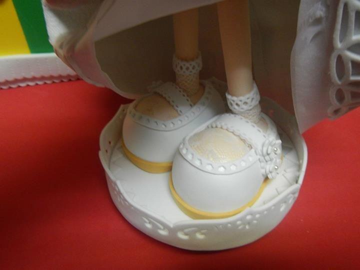 Zapatos de niñas de comunión, Mentxuladas.