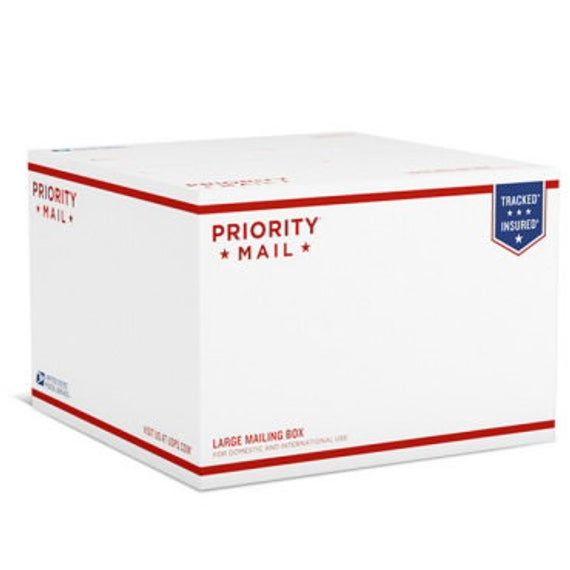 Usps Priority International 7 X7 X7 Box 1lbs Office Supplies Pens Priorities Mailbox