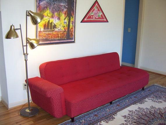 1950s Vintage Bp John Click Clack Sofa Sofa Bed By