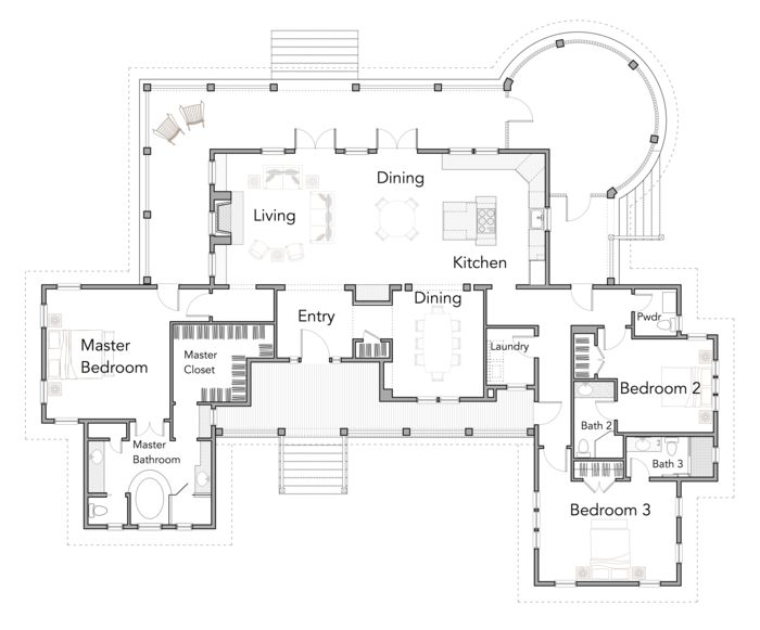 988 best floor plans images on pinterest architecture house first floor malvernweather Choice Image