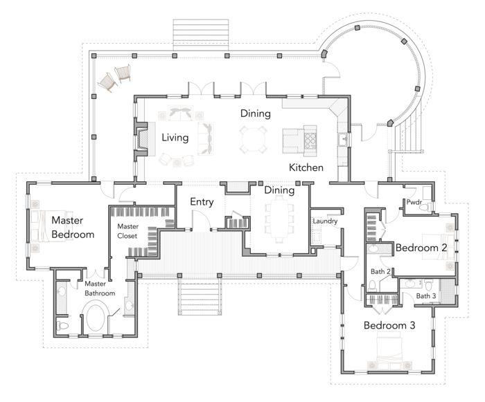 First Floor Saltwater Rest Home Plan Pinterest Floors