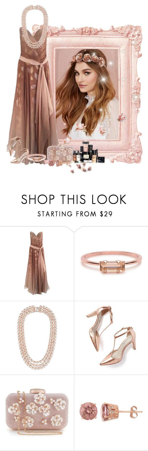 """""""ombre"""" by sensitiveheart ❤ liked on Polyvore featuring Bob Mackie, Bing Bang, Larkspur & Hawk, Boden, David Tutera and Victoria's Secret"""