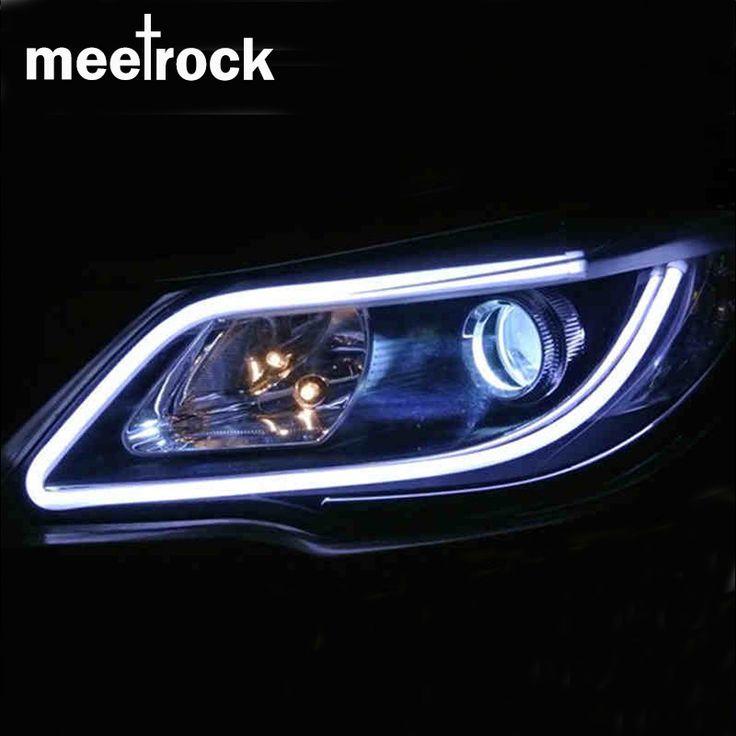 $8.00 (Buy here: https://alitems.com/g/1e8d114494ebda23ff8b16525dc3e8/?i=5&ulp=https%3A%2F%2Fwww.aliexpress.com%2Fitem%2FMeetrock-newest-2pcs-double-LED-daytime-running-light-DRL-turn-signals-external-lights-waterproof-12V-SMD%2F32687425446.html ) Meetrock 2pcs 60cm silicagel LED DRL turn signals external light daytime running light auto 12V SMD COB car-styling for just $8.00