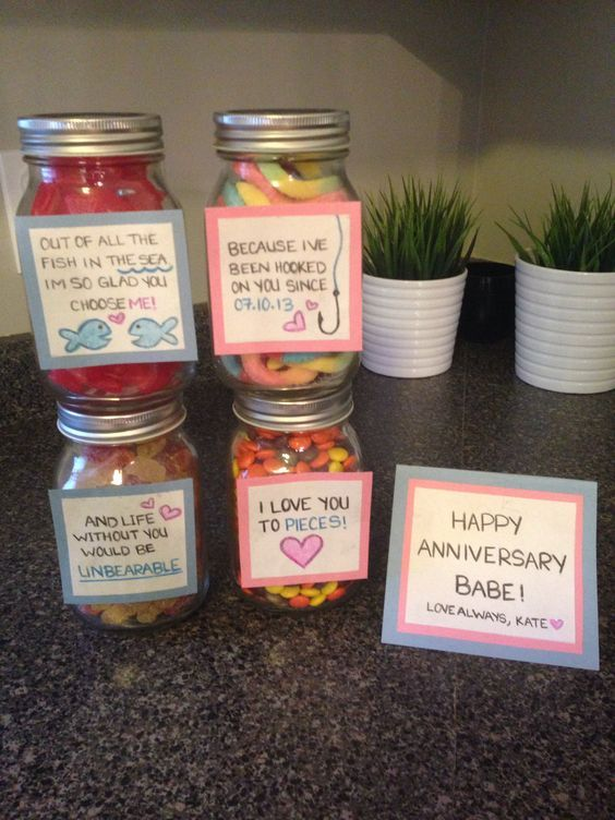 Love You to Pieces | Valentines Day Mason Jar Gifts for Men