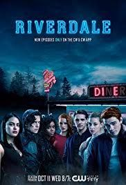 Riverdale (The CW-October 11, 2017) Season 2 - A crime, drama, mystery series. Based on the characters by Archie Comics. A subversive take on Archie and his friends, exploring small town life, the darkness and weirdness bubbling beneath Riverdale's wholesome facade. Created by Roberto Aguirre-Sacasa. Stars: K.J. Apa, Lili Reinhart, Camila Mendes.