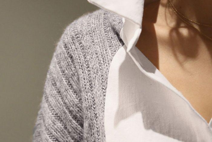 Скрестить свитер с блузкой (подборка)