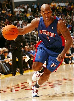 43. Chauncey Billups, PG, Boston Celtics, Toronto Raptors, Denver Nuggets, Detroit Pistons, New York Knicks and Los Angeles Clippers