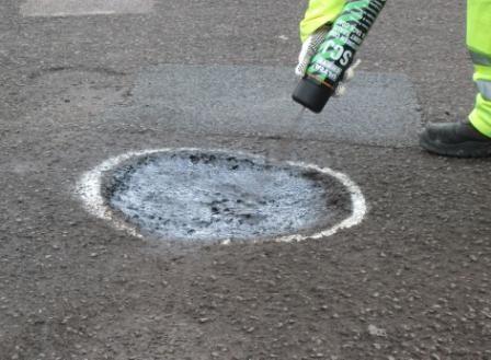 Emergency Winter Asphalt Pothole Repairs - http://www.suresealpavement.com/press/emergency-winter-asphalt-pothole-repairs/