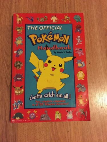 The official pokemon handbook - 1998 First Edition