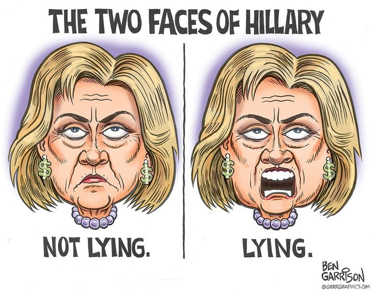 Two assholes hillary