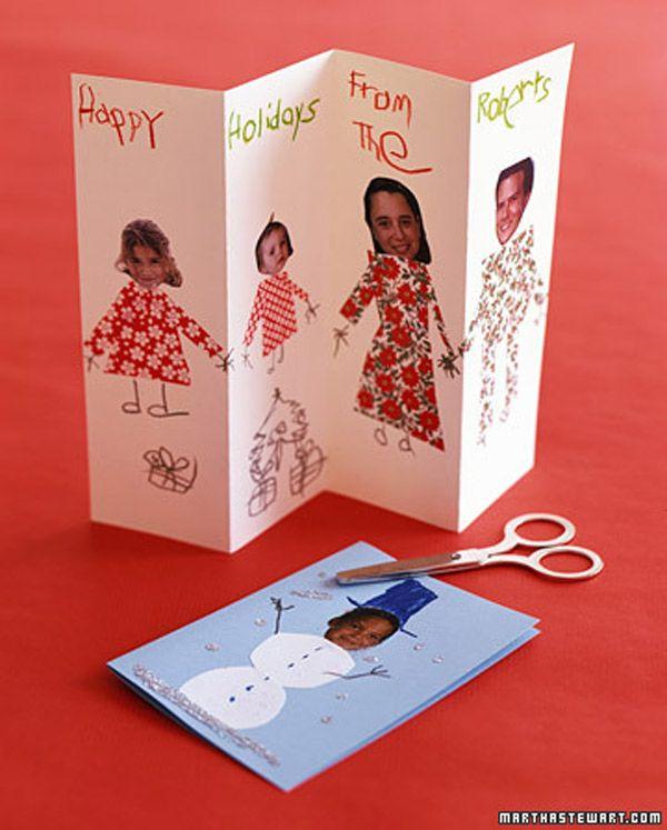 M s de 1000 ideas sobre tarjetas de navidad para ni os en - Postal navidad original ...