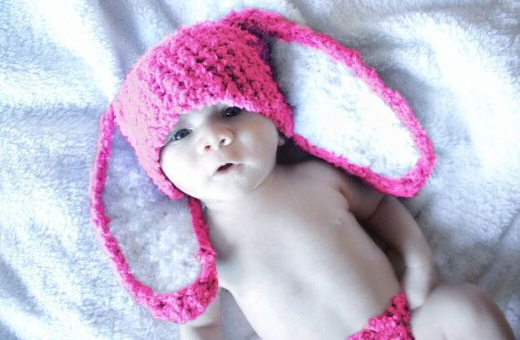 CIJ #SALE 0 to 3m Newborn Bunny Baby Hat Hot Pink #summersale #etsysale #discount #voucher #christmasinjuly #coupon #cij #children #kids #kidsfashion #baby #newborn #babygirl #babyboy #babyshower #forgirls #babyshowergift #babamoon #etsy #mom #babygifts #cutegifts #gift #girl #boy #products #accessories #babies #girlhat #boyhat #easter #rabbit #bunnytail #bunny #bunnyhat #babyhat #hat #photoprop #prop #bunnycostume #babycostume #etsygifts #handmade #bunnyears #springhat #accessories…