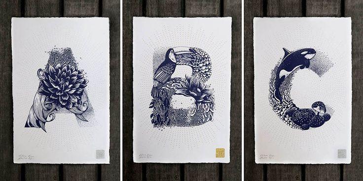Французский иллюстратор Валери Гюго (Valerie Hugo), специализирующаяся на шелкографии (трафаретной печати) и настенной живописи, создала для своей персональной выставки в Slow Gallery необычный лат…