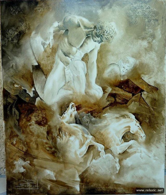 Философская живопись Роже Сюро. Часть первая