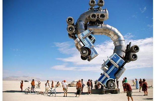 Trucks: Big Rigs, 18 Wheelers, Art Installations, Mr. Big, Burning Men, Music Festivals, Rigs Jig, Men Art, Burningman