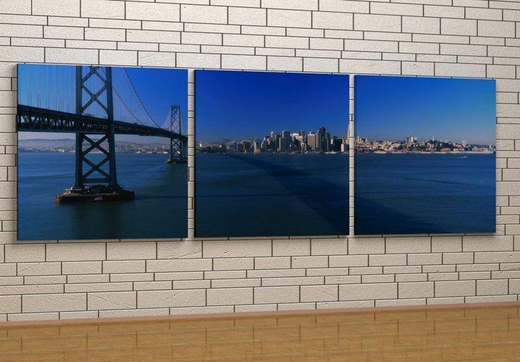 Bay Bridge in the morning - Canvas