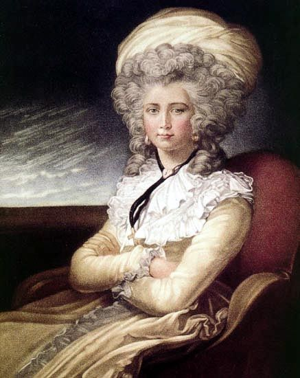 Maria Cosway (self portrait, 1787)