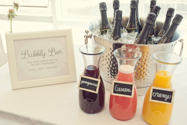"""Champagne """"bubbly bar"""" - with Champagne cooler of GH."""
