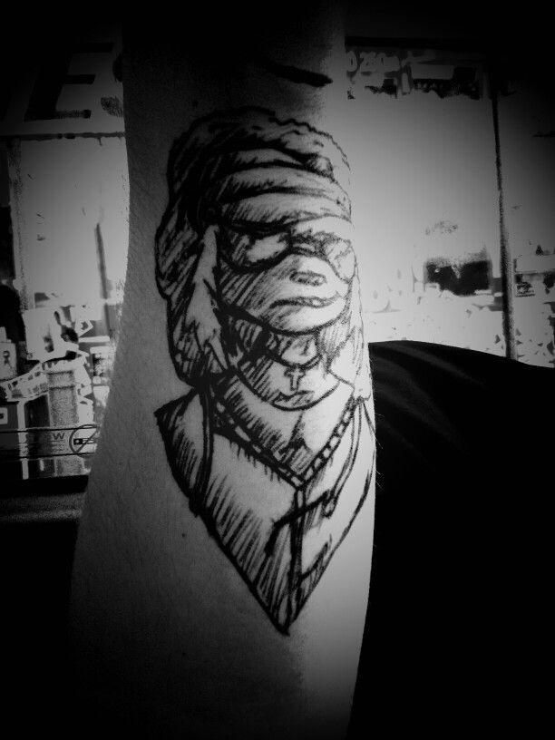 Gorillaz drawing 2