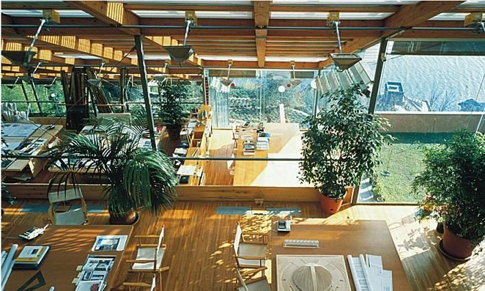 Renzo Piano's Building Workshop #studio #interior