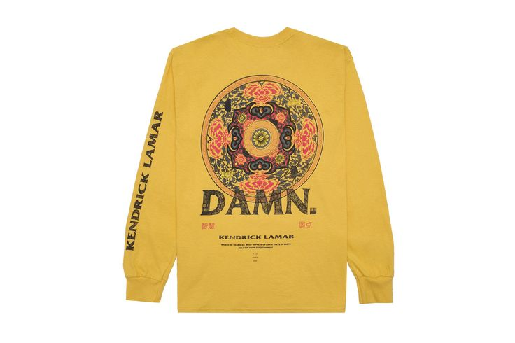 Kendrick Lamar Adds Kung-Fu Kenny Pieces to 'DAMN.' Merch Selection