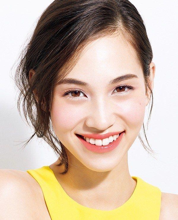 Kiko Mizuhara for Shiseido MAQuillAGE Spring 2016 ad. More photos here!